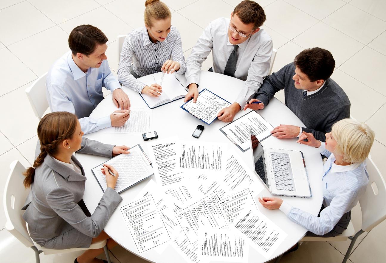 Картинка совещание людей